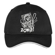 Zowie Swinging Bat Boy Cap Hat Black Red White Navy Boy's Kid Baseball Trucker Gift Style Fashion