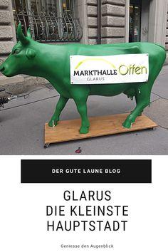Glarus ist die kleinste Hauptstadt der Schweiz. Urban und gleichzeitig naturnah. Mehr Land als Stadt, tolle Ausflugsmöglichkeiten und eine süsse Spezialität. Grinch, Blog, Good Mood, Amazing, Little Ones, Switzerland, Blogging