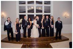 Bridal Party photo at The Milestone Denton by brittanybarclay.com