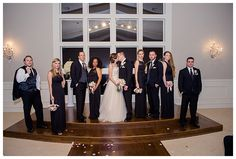 Bridal Party photo at The Milestone Denton by brittanybarclay.com