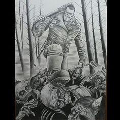 King Shit Motherfucker Negan Lucille, Instagram, Artist, Tattoo Man, Dibujo, Artists