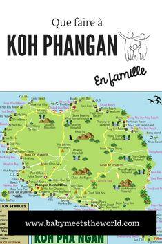 À la découverte de Koh Phangan  en famille lors de notre séjours en Thaïlande ! Koh Phangan, Gold Beach, Thailand Travel, Phuket, Philippines, Villa, Paris, Travel Inspiration, Children