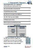 #2.Vergangenheit / #Gegenwart 4.Klasse #Arabisch Arbeitsanweisungen sind in den Lösungen in Arabisch übersetzt. #Arbeitsblaetter / Übungen / Aufgaben für den Grammatik- und #Deutschunterricht - Grundschule.  unwörter / Verben müssen in die richtige 2. Vergangenheitsform in Lückentexte gesetzt werden. Mit verschiedenen Worten zwei sinnvolle Sätze in der 2. Vergangenheit bilden.