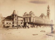 Álbum Fotografias de São Paulo 1900 - Estação da Luz Anônimo (1890 década)