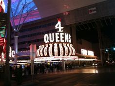 Downtown Las Vegas can be lots of fun too... especially at night time.