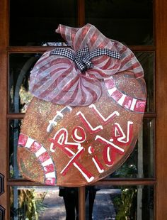 Ohio State, Penn State or WVU, not Alabama, but very cute for August and September for our front door