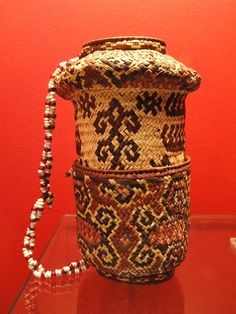 A Betel bag from West Timor, made around 1921. Called an aluk, such bags are still made.