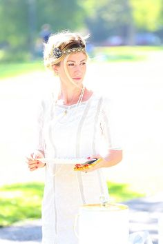 Summer whites Gatsby themed party hosted by @Kelly Golightly