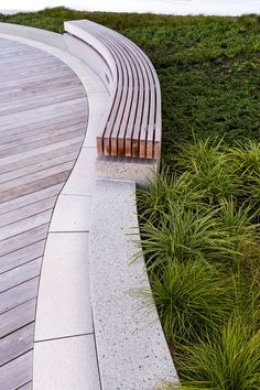 Artisan Way - Assembly Row — Recover Green Roofs - Landscape Elements, Landscape Architecture Design, Organic Architecture, Urban Landscape, Contemporary Architecture, Residential Architecture, Urban Furniture, Street Furniture, Green Roof System