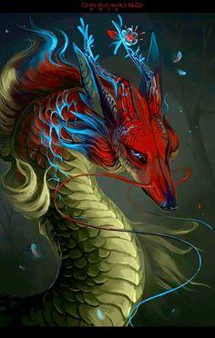 Fox dragon