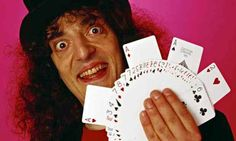 Magician and comedian Jerry Sadowitz. (b.1961) Voted the 15th greatest stand-up comic in 2007. pic Chris Ridley