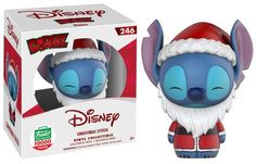 Christmas Stitch Dorbz by Funko, Funko-Shop exclusive, LE pieces Lilo Stitch, Lelo And Stitch, Cute Stitch, Ems, Disney Stich, Stitch Shop, Funk Pop, Disney Pop, Pop Dolls
