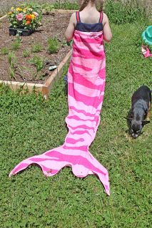 Mermaid towels! So making these for Summer gifts!