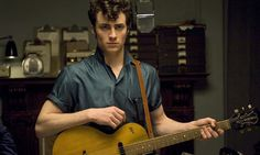 "Aaron Johnson as John Lennon in ""Nowhere Boy"""