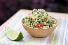 Quinoa Tabbouleh Recipe (via Garden Therapy)