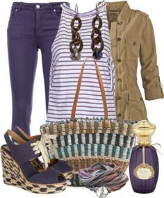"""""""Color on My Jeans"""" by gangdise on Polyvore"""