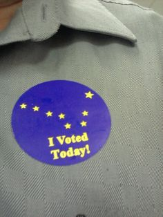 Early voting rocks!