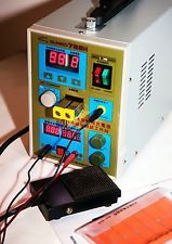 Sunkko 788H18650 Battery Spot Welder charger w/foot pedal switch US shipping
