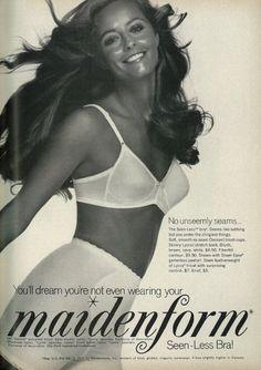 1971 Maidenform advertisement, via flickr.