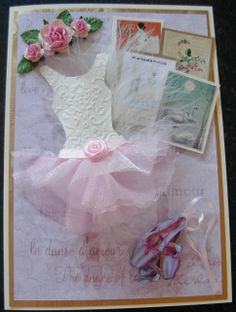 Cards dresses on pinterest dress card circle dress and for Pin the tutu on the ballerina template