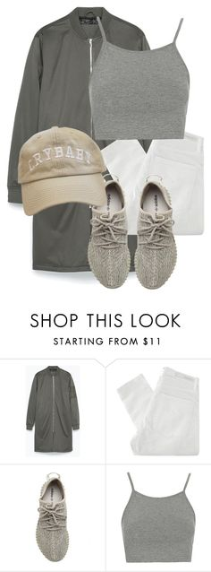 """""""Untitled #3220"""" by xirix ❤ liked on Polyvore featuring Zara, Nobody Denim, adidas Originals, Topshop, women's clothing, women's fashion, women, female, woman and misses"""