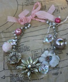 large pin necklace