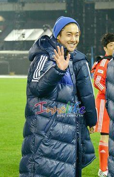 Futbol juego in Japan KHJ