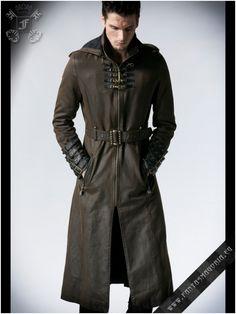 Y-550 Wasteland coat punk rave | Fantasmagoria.eu - Gothic Fashion boutique