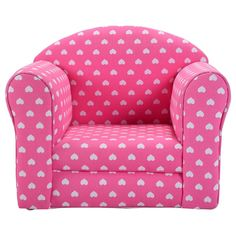 Costzon Kids Sofa Armrest Chair Couch Children Living Room Toddler Furniture Heart Pink -- Extra info might be found at the image link. (This is an affiliate link). Kids Sofa Chair, Kids Armchair, Blue Armchair, Tub Chair, Kids Couch, Toddler Furniture, Toddler Chair, Toddler Rooms, Kids Living Rooms