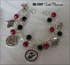 Marine Mom, Marines Corps, Military Mom, Marine Jewelry, I love my Marine, USMC, Military Mom, Military Jewelry, Marines Corps, Marine Corps Mom, Marine Mom Jewelry, Marine Mom Bracelet, Proud Marine Mom, USMC, Military Marines, Marine Mom by MilitarySweetMemorie on Etsy