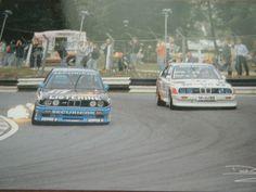 BMW M3 WILL HOY TIM SUGDEN BTCC 1991 POSTCARD BRANDS HATCH CARTE POSTAL Bmw M3