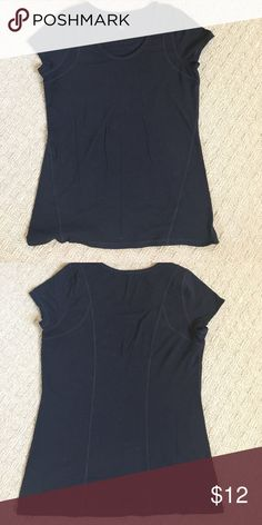 Zella Active TShirt Black active top by Z By Zella from Nordstrom. Only worn 2-3x, awesome condition. Super comfy fabric. Zella Tops Tees - Short Sleeve