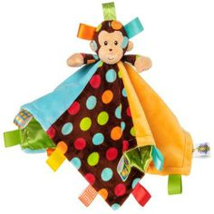 """New """"Taggies"""" Monkey Polka Dot Blanket available exclusively at Schaaf Floral"""