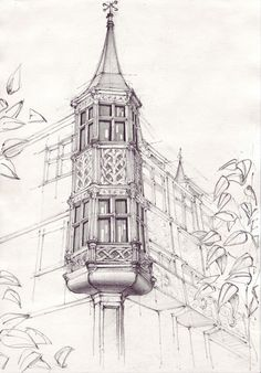 Drawings by Adelina Popescu