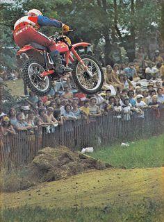 1975 Marty Smith Honda Factory Rider