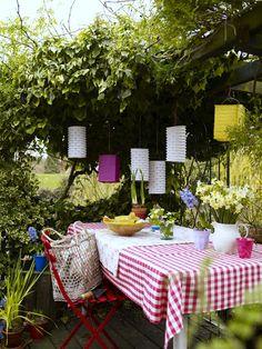 Pretty picnic space