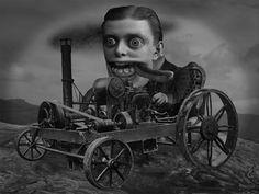 Colin Raff/Horror Art