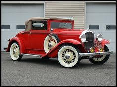 1931 Plymouth Convertible Coupe  Rumble Seat