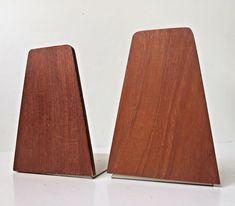 Vtg Danish Set of 2 1960s Teak Bookends by Kai Kristiansen mid century modern: https://www.ebay.com/itm/263599282409