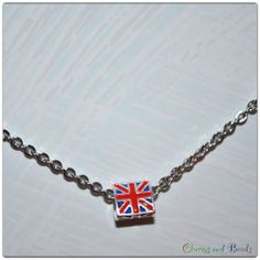 UNION JACK collana/necklace in acciaio for all directioners (one direction) new