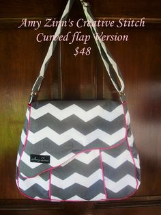 The Genevieve Purse should bag by AZinnCreativeStitch on Etsy, $48.00