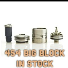 454 Big Block RDA IN STOCK. Limited stock.  Endless ways to build your coils with this one. #Padgram