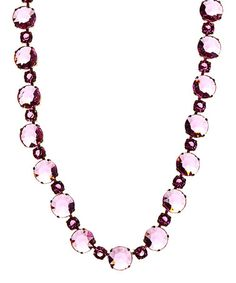 Look what I found on #zulily! Pink Stone Collar Necklace by Majestic #zulilyfinds
