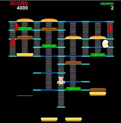 Burger Time- I remember this game!