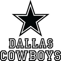 dallas cowboys black and white designs pictures to pin on