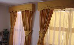 Cortinas y cenefas para paredes - Imagui