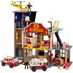 Kidkraft Deluxe Fire Rescue Set : Toys & Games : Amazon.com