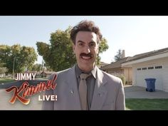 "On ABC's ""Jimmy Kimmel Live!"" actor and comedian Sacha Baron Cohen brings back his character Borat to go door-to-door around Los Angeles and get to know midterm-election voters."