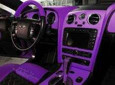 The inside of Paris Hilton pink Bentley Bentley Continental Gt, Paris Hilton, Two Fast Two Furious, My Dream Car, Dream Cars, Dream Big, Aston Martin, Pink Range Rovers, Volkswagen