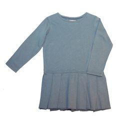vestido niña douuod algodon con tablas Más moda infantil online en www.yosolito.es/tienda